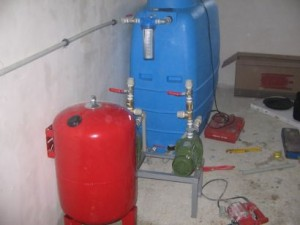 Монтаж на хидрофори