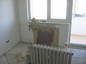 затапване на радиатори